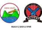 GICB vs VFNR MATCH4 St. lucia