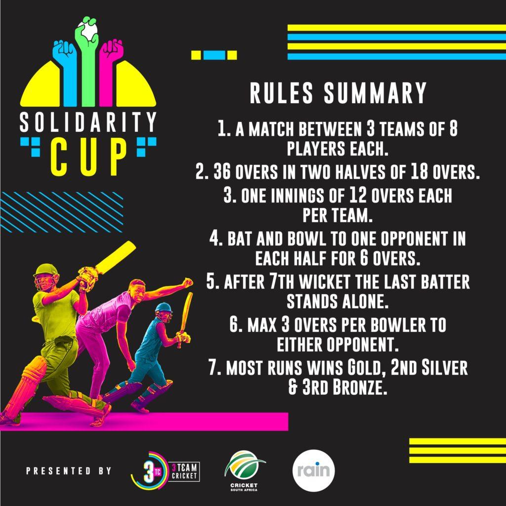 3TC Cricket Rules