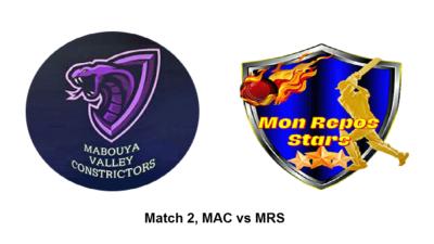 MAC vs MRS Match2 stlucia