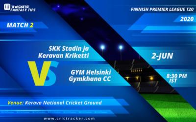 SKK Stadin JA Keravan Kriketti and GYM Helsinki