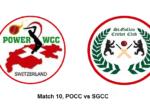 POCC vs SGCC MATCH 10