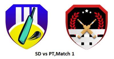 Sd vs pt dream 11 team today