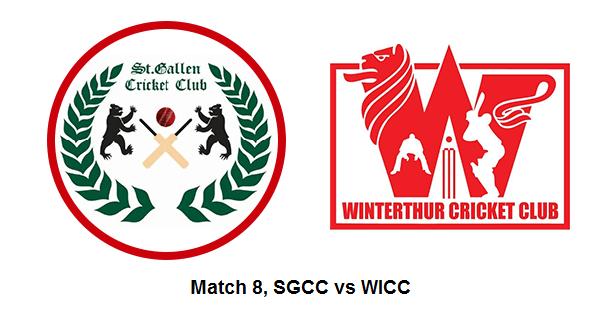 St Gallen CC vs Winterthur CC