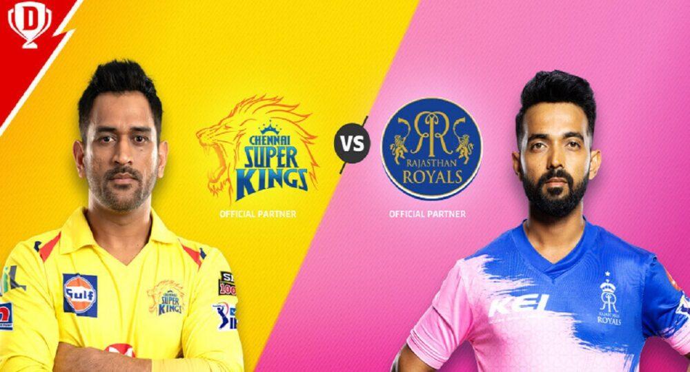 RR vs CSK IPL Dream11 Team Prediction