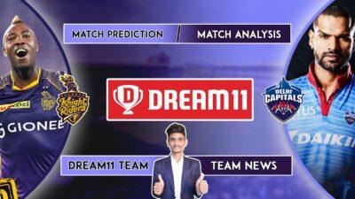 डीसी बनाम केकेआर | केकेआर बनाम डीसी | Dream11 टीम भविष्यवाणी | Dream11 आईपीएल | आईपीएल 2020 | टीम समाचार | प्रकरण 42