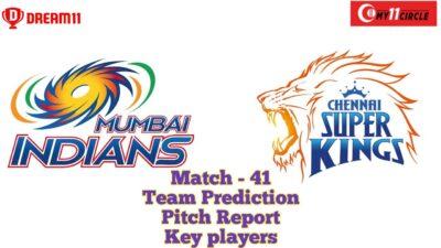 CSK vs MI Dream 11 teams   Dream11 Prediction tamil   Today's IPL Match 2020   Sharjah Pitch report