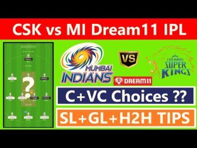 CSK vs MI Dream11 Team | MI vs CSK Dream11 Team | Pitch Report | Team News | Top Players | IPL 2020