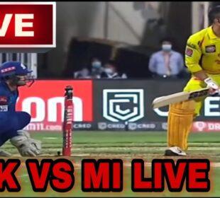 CSK vs MI LIVE | Mumbai Indians vs Chennai super kings full match highlights | MI VS CSK LIVE