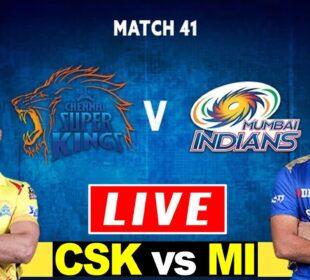 CSK vs MI Live Today   Live Cricket Score   IPL 2020   Chennai Super Kings vs Mumbai Indians