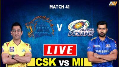 CSK vs MI Live Today | Live Cricket Score | IPL 2020 | Chennai Super Kings vs Mumbai Indians