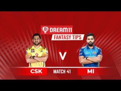 CSK vs MI   MI vs CSK   DREAM11 IPL 41TH MATCH   IPL 2020