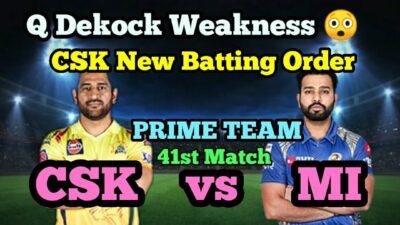 CSK vs MI || MI vs CSK || Dream11 || Dream11 Prediction || 41st Match CSK vs MI