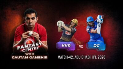 Chakravarthy over Ashwin? | Fantasy Centre with Gambhir | IPL 2020 Match 42, KKR v DC | Cricket.com