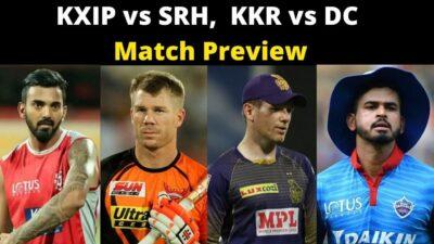 IPL 2020: आज खेले जाएंगे दो मुकाबले, देखिए किसका पलड़ा भारी | KKR vs DC, KXIP vs SRH | NBT