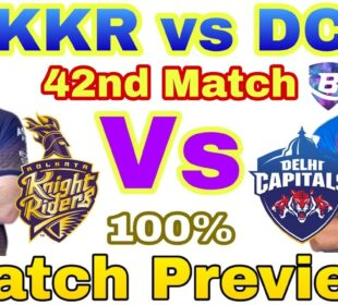 IPL 2020 42nd Match Kolkata Knight Riders vs Delhi Capitals Preview - 24 Oct |KKR vs DC| Highlights