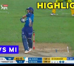 IPL 2020 : CSK vs MI 1st Innings Full Highlights | Chennai vs Mumbai Highlights | Sports Universe