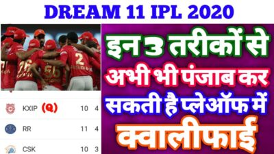 IPL 2020 - Kings XI Punjab Still Qualify in the Playoffs | These 3 Ways Help KXIP to Qualify