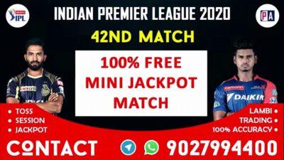 IPL 2020 Kolkata Knight Riders vs Delhi Capitals 42nd Match Prediction Preview 11 team