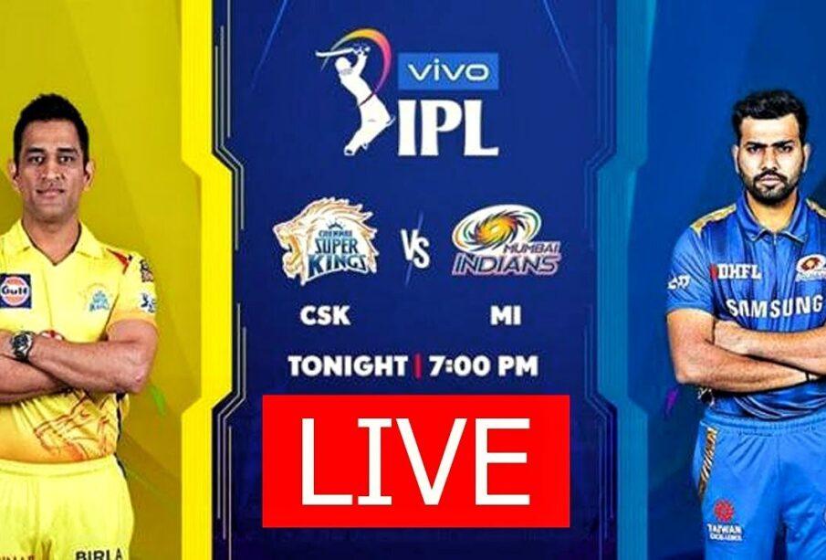 IPL 2020 LIVE | CSK Vs MI - Match 01 | Chennai Super Kings Vs Mumbai Indians LIVE Score | HINDI
