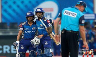ipl 2020 mi stroll to nine-wicket win over dc