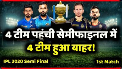 IPL 2020 Playoff Predictions, 4 Teams Final | IPL 2020 Points Table