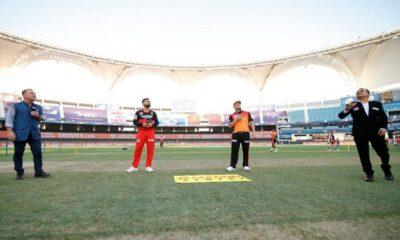 ipl 2020, toss royal challengers bangalore v sunrisers hyderabad