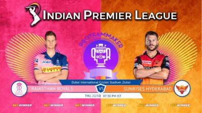 IPL LIVE RR VS SRH,Sunrisers Hyderabad vs Rajasthan Royals Indian