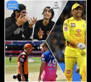 IPL Review   RR vs SRH   MI vs CSK   Csk Fan reaction