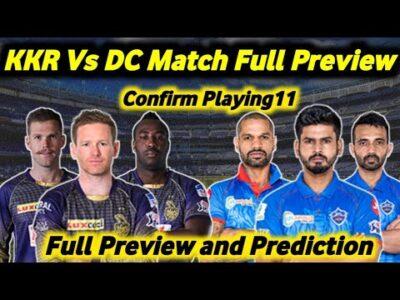 Kolkata Knight Riders vs Delhi Capitals Playing11 | Kkr vs DC full preview | Cricwric