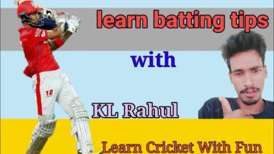Learn batting tips with kl rahul || kl rahul batting in ipl 2020 || kl rahul batting || kl rahul
