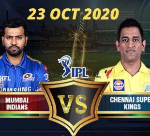 Live. CSK vs MI | Chennai super kings vs Mumbai indians | IPL 2020 LIVE Cricket Scorecard commentry