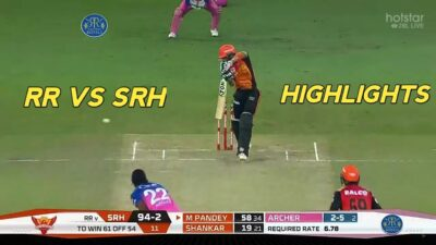 SRH vs RR IPL 2020 FULL MATCH HIGHLIGHTS | SUNRISERS HYDERABAD vs RAJASTHAN ROYALS MATCH HIGHLIGHTS