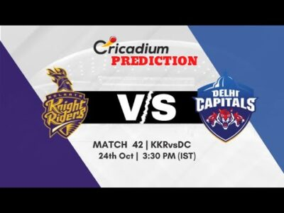 WHO WILL WIN TODAY  KKR vs DC MATCH 42 IPL 2020 MATCH PREDICTION  IPL PREDICTION