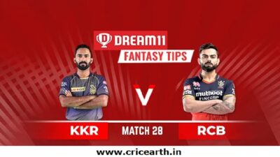 rcb-kkr-oct12 DREAM11 TEAM Prediciton
