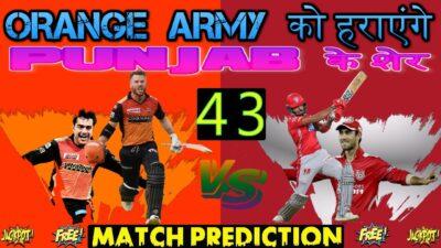 srh vs kxip | 43rdmatch prediction | KXIP VS SRH | ipl uae | punjab vs hyderabad