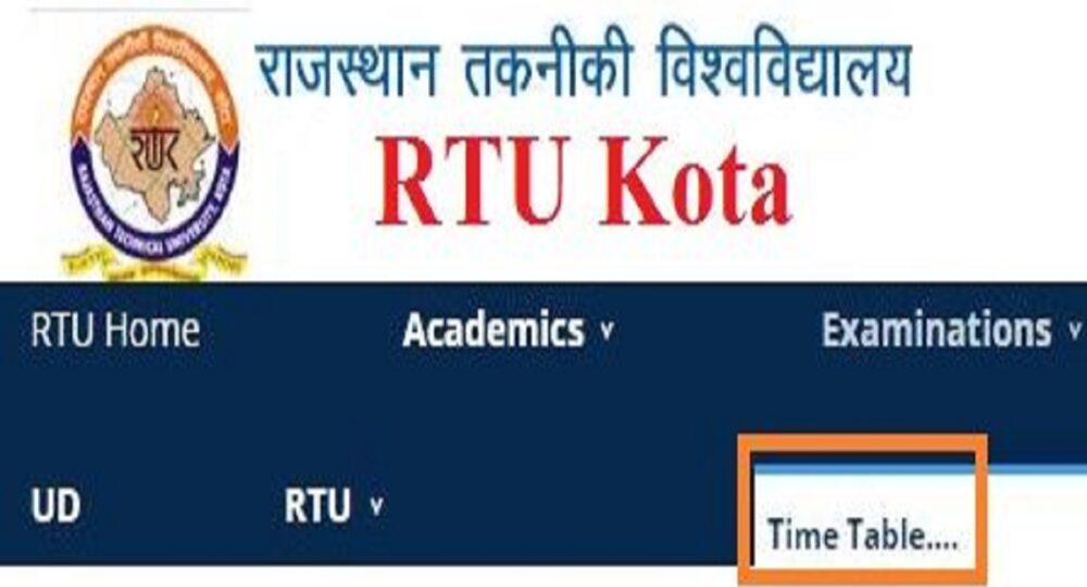 RTU-Time-Table-2019