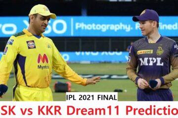 IPL2021-FINAL-KKRVSCSK-DREAM11-TEAM
